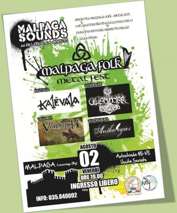 malpaga folk fest - locandina - 2013