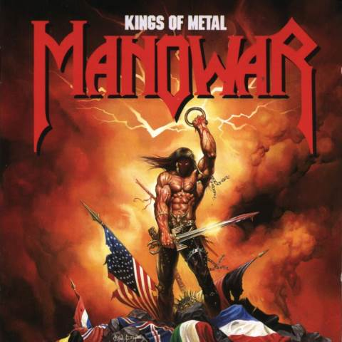manowar - kings of metal - 1988
