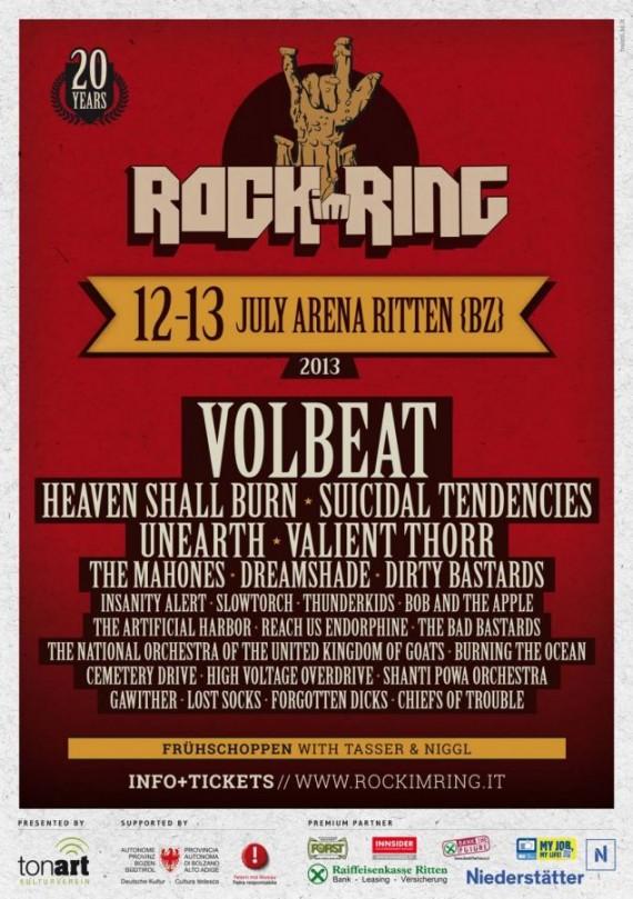 rock im ring bolzano 2013