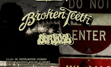 rotting out - broken teeth - survival - tour 2013