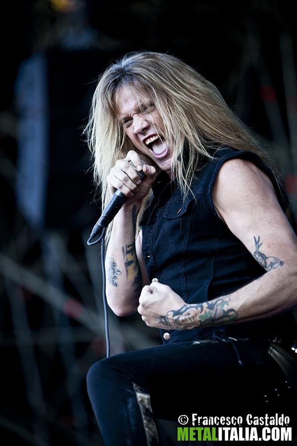 sebastian bach - live gods of metal - 2012