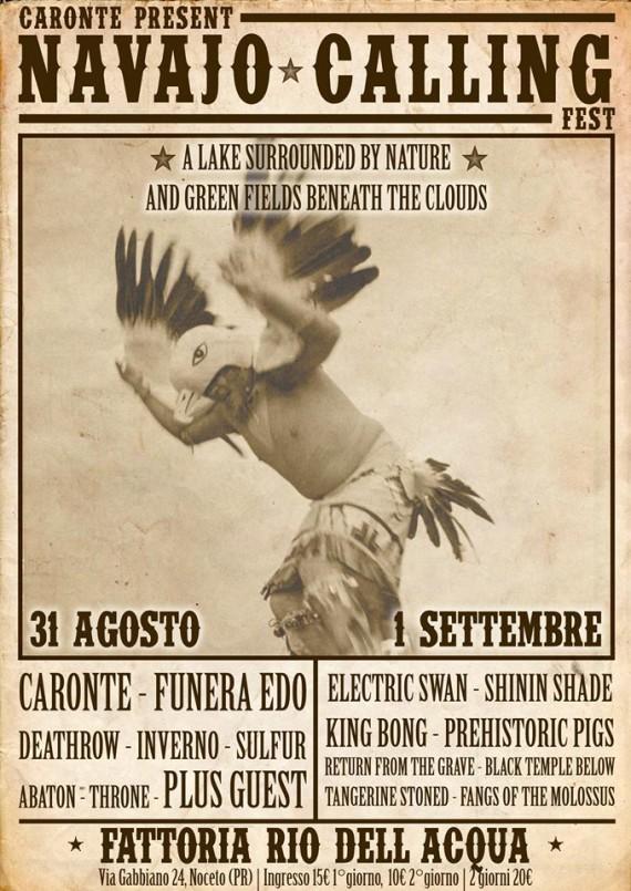 Navajo Calling Festival - locandina - 2013