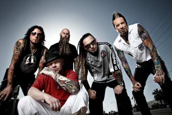 Five Finger Death Punch - band - 2013