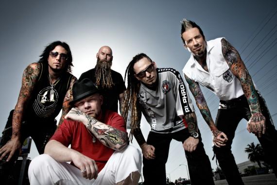 Five Finger Death Punch - band - 2013