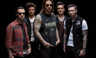 avenged sevenfold - band - 2013