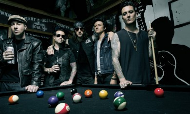 avenged sevenfold - band - 2013