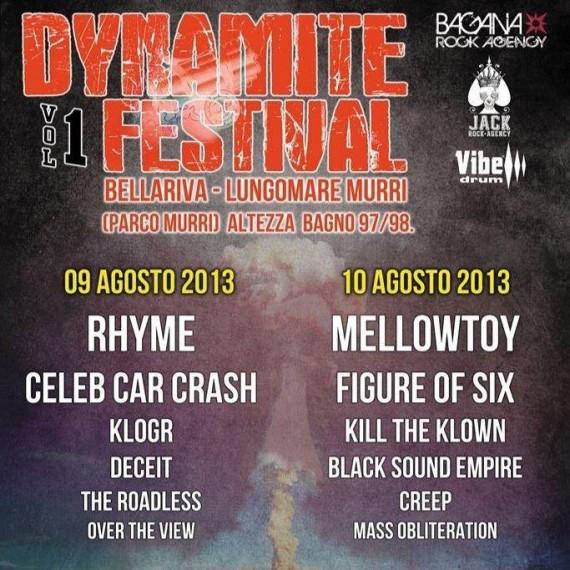 dynamite festival - locandina - 2013