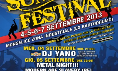 onstage summer festival 2013