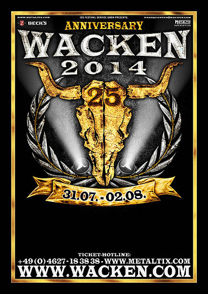 wacken open air 2014