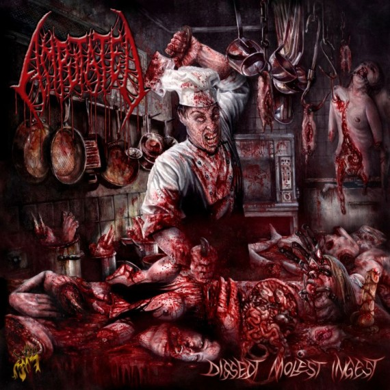 Amputated - Dissect Molest Ingest - 2013