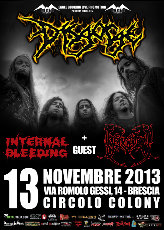 Disgorge promo web colony 2013
