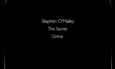 Stephen O'Malley - locandina trieste - 2013