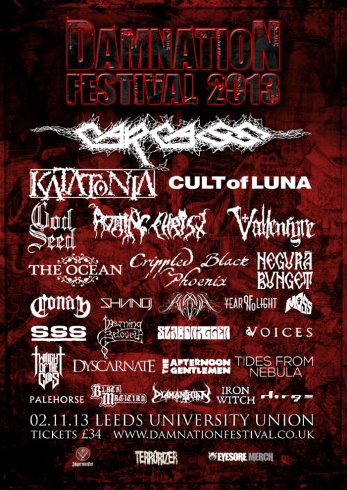 damnation festival - locandina finale - 2013