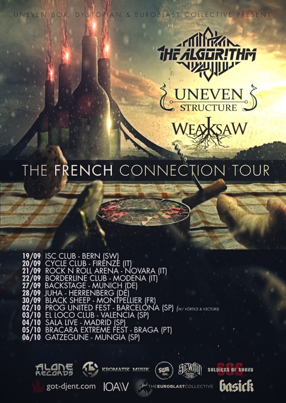 french connection tour - locandina - 2013