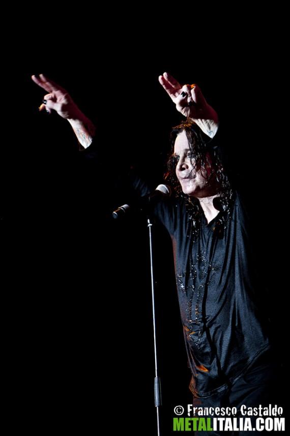 ozzy osbourne - live milano gods of metal - 2012