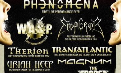 sweden rock festival 2014 - locandina aggiornamento settembre