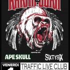 Karma To Burn + Ape Skull + SixtySix – Roma