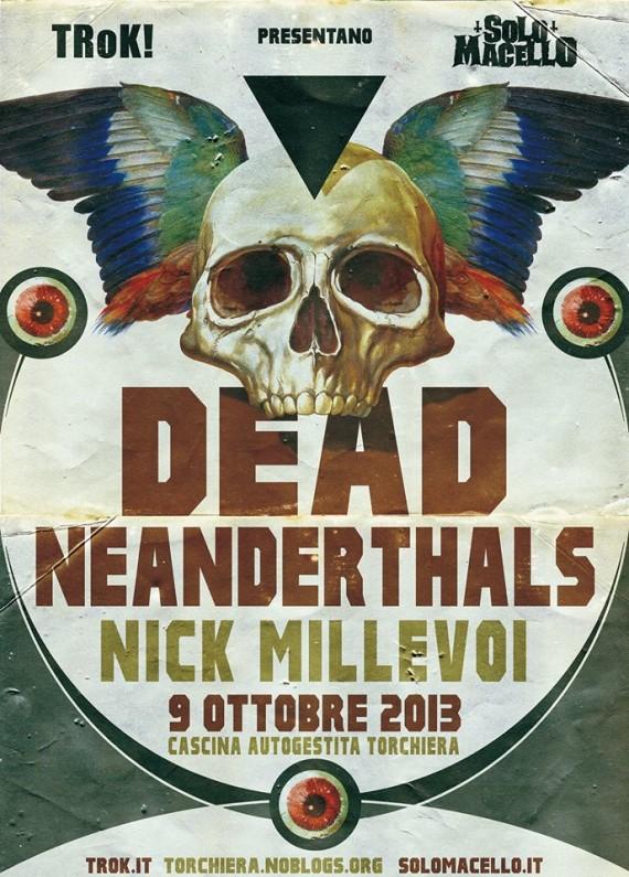 Dead Neanderthals - flyer - 2013