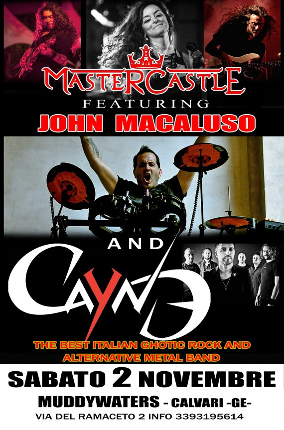 Mastercastle W john Macaluso and Cayne  Muddywaters 2013