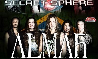 Secret sphere almah sinheresy overtures - locandina - 2013
