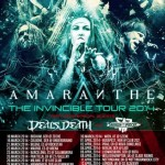 amaranthe - tour europeo - 2014