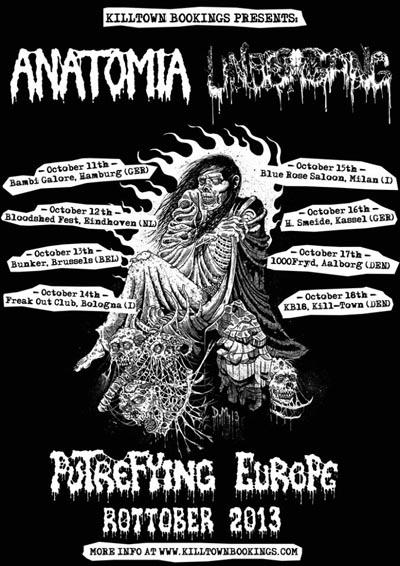 anatomia - locandina tour - 2013