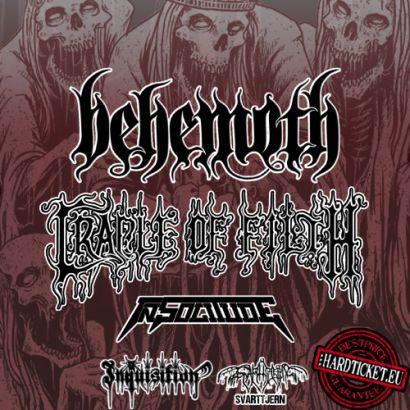behemoth - cradle of filth - tour europeo 2014