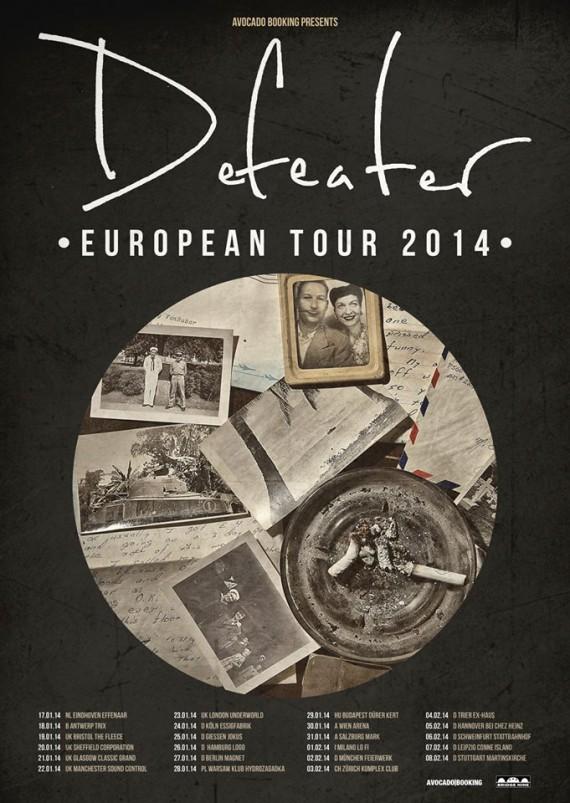 defeater - locandina tour - 2014