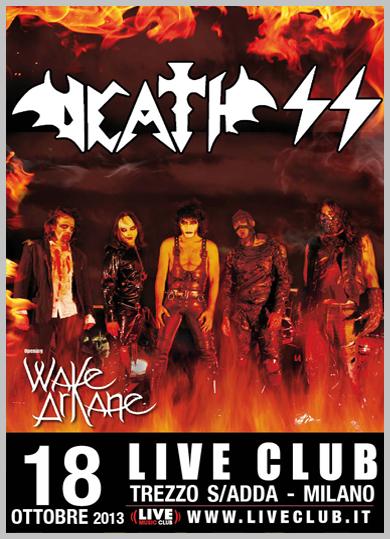 death ss - live trezzo - 2013