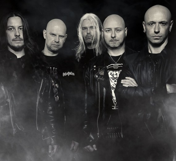 hail of bullets - band - 2013