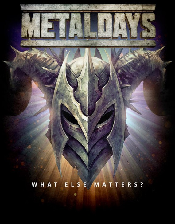 metaldays 2014 - logo