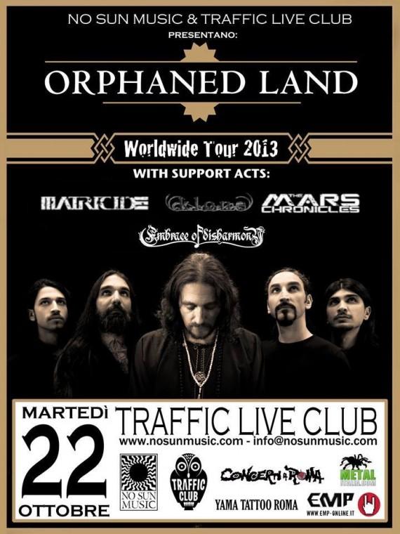 orphaned land - roma 2013