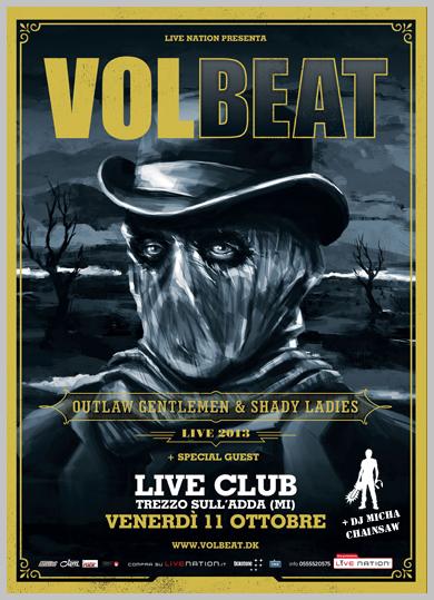 volbeat - live trezzo - 2013
