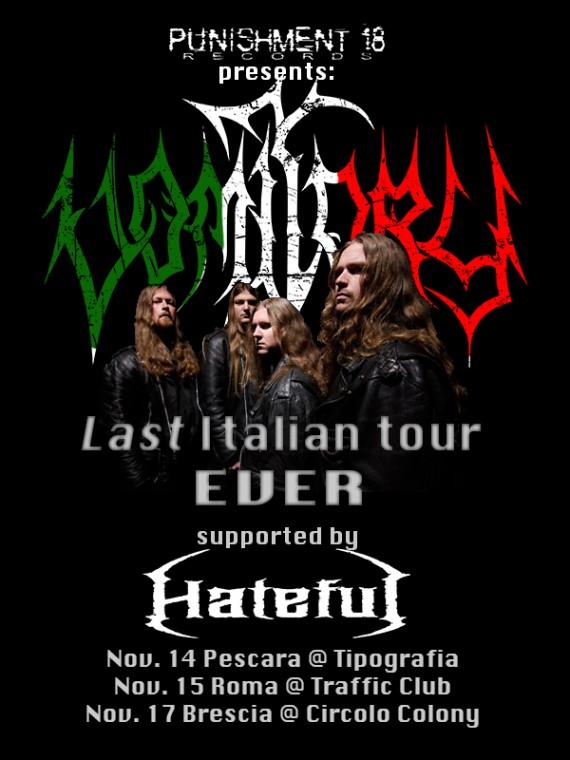 vomitory - locandina italia - 2013