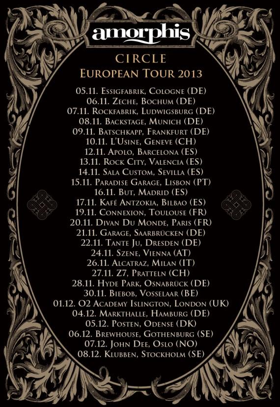 Amorphis - locandina - 2013