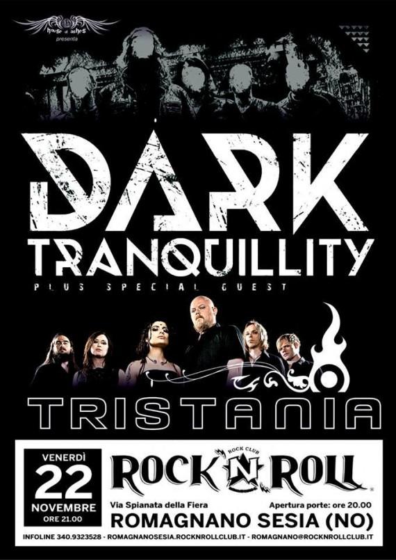 dark tramquillity - locandina romagnano - 2013