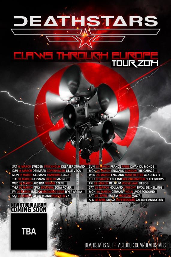 deathstars - tour - 2014