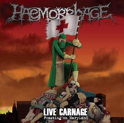 haemorrhage - live carnage - 2013