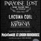 Paradise Lost + Lacuna Coil