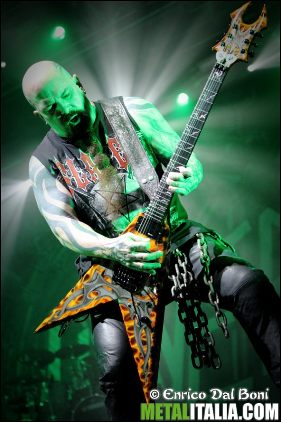 slayer - kerry king live padova - 2013
