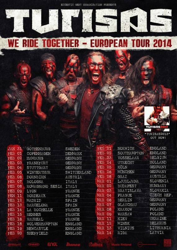 turisas - tour - 2014