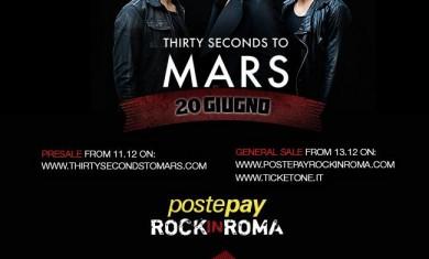 30 sec to mars rock in roma
