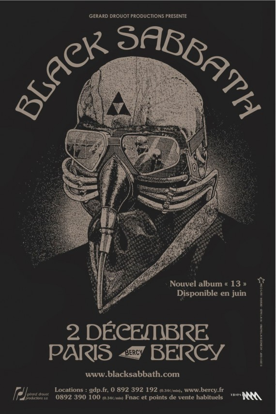 Black Sabbath in paris bercy 2013
