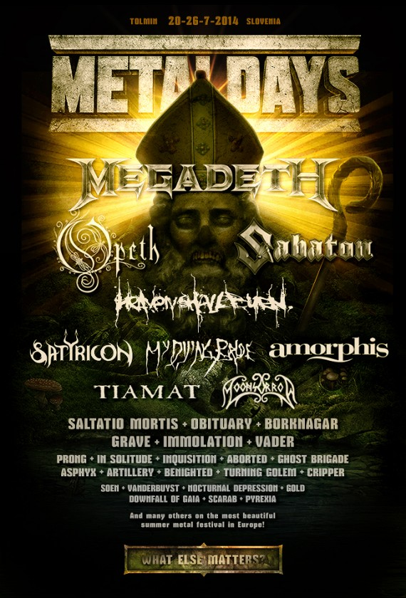 Metaldays 2014 - aggiornamento December