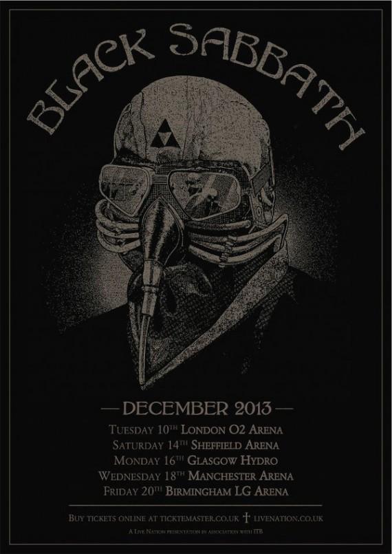 black sabbath - locandina - 2013