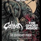 CALIBAN, THE GHOST INSIDE e altri: date a Roncade e Milano