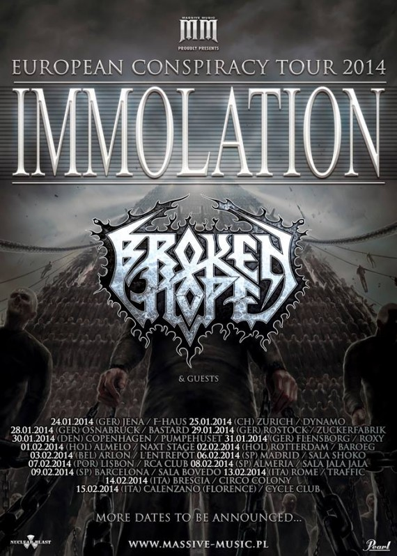 immolation tour 2014
