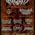 Iniquity + Hideous Divinity + Unfathomable Ruination