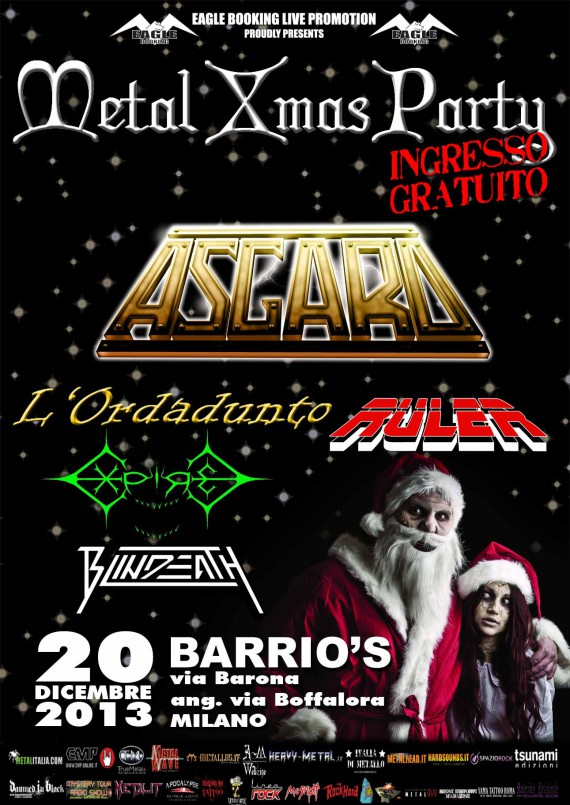 metal x-mas party 2013