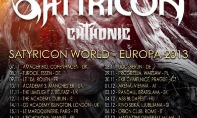 satyricon tour 2013